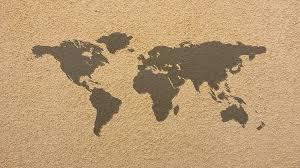 free illustration world map globe pattern texture free