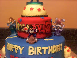 Dragon Ball Z Cake Decorations by Dragon Ball Z Cake Toppers U2014 Liviroom Decors Dragon Ball Z Cakes
