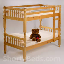 SHORTY SHORT AND SMALL SIZE CHILDRENS BEDS KIDS JUNIOR ShortyBeds - Short length bunk beds