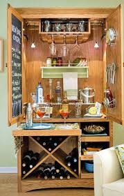 Building A Bar With Kitchen Cabinets Best 25 Armoire Bar Ideas On Pinterest Armoire Redo