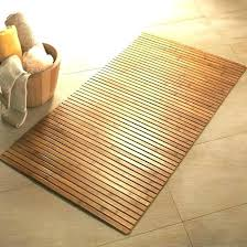 Bathroom Floor Mats Rugs Bathroom Floor Mats Teak Bath Mat Bath Rugs Bamboo Wooden Bath Mat