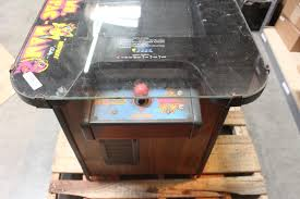 ms pac man table coin op arcade video game property room