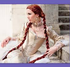 Braid Hair Extensions by Medieval Renaissance Costume Wig Long Braid Hair Extensions Sca