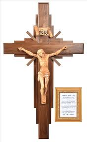 large wall crucifix large 4 foot story of jesus wall crucifix holy land