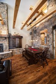 Styling Room 15 Gorgeous Dining Rooms With Stone Walls