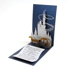 pop up wedding invitations handmade fairy tale pop up wedding invitation by artifacture