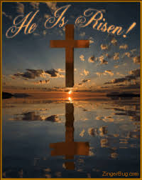 He Is Risen Meme - he is risen reflecting sunset glitter graphic greeting comment