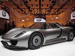 electric porsche supercar porsche 918 spyder concept 2010 pictures information u0026 specs