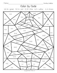 free grade math coloring sheets good coloring free