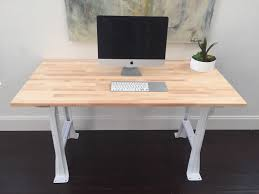 furniture small computer desk with butcher block top and white small computer desk with butcher block top and white legs awesome butcher block desk designs custom decor awesome home interior decoration ideas