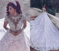 luxury wedding dresses discount middle east lace 2016 wedding dresses luxury