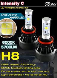 brightest hid lights for cars rohs led headlight kit h8 car bulbs brightest led car headl
