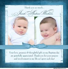 baptism thank you wording his sweet baby blues will charm your guests on this baby blues