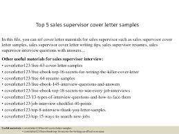 cover letter sles top 5 sales supervisor cover letter sles 1 638 jpg cb 1434702107