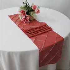 home decor table runner 10pcs high class polyester table runner banquet decoration home