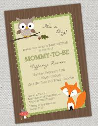 woodland creature baby shower captivating woodland creatures baby shower invitations to create