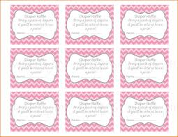 free printable baby shower diaper raffle tickets within diaper