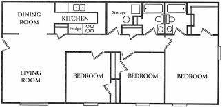 3 bedroom floor plan floor plans cedarfield at churchland