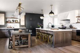 hickory grey stained kitchen cabinets flat panel door archives cabinets