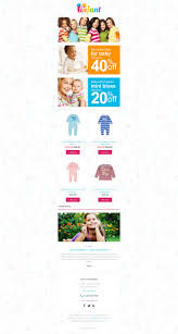 baby store responsive newsletter template 55289