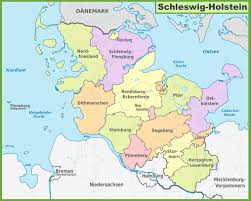 Freiburg Germany Map by Administrative Divisions Map Of Schleswig Holstein