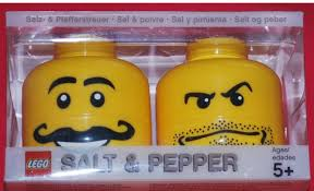 lego salt and pepper shakers geek gifts gadgets cool stuff