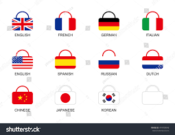 French And Dutch Flag National Flag Bag Icon Stock Vector 474709048 Shutterstock