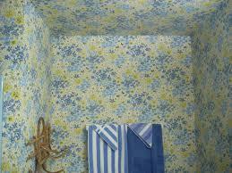 loving old wallpaper cavern home