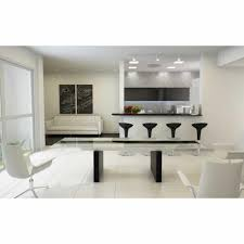 Modern Glass Kitchen Table Kitchen Rectangular Glass Top Dining Table Small Formal Dining