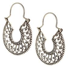 filigree earrings sterling silver mexican filigree earrings jj caprices