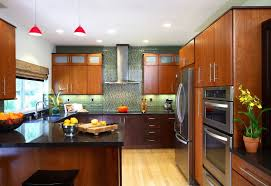 high gloss u shape with asian kitchen idea asian kitchen style