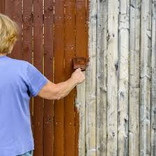 is it better to paint or stain your kitchen cabinets what color should i stain my wood fence