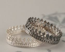 king and crown wedding rings view crown rings by debblazer on etsy