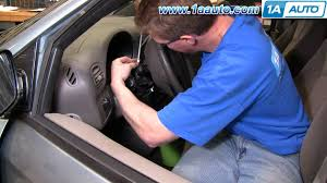 how to install replace turn signal switch dodge caravan 01 07