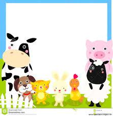 baby farm animal clipart borders clipground