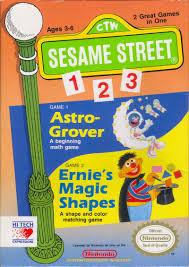 sesame street 1 2 3 nes 1989 mobygames