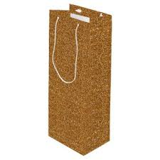 gold glitter wrapping paper gold faux glitter wrapping paper wine gift bag bridal and