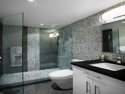 subway tile bathroom for natural and classic look image gray subway tile bathroom