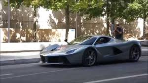 Ferrari F12 Grey - ferrari start up u0026 walkaround grey laferrari cali t 599gto