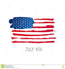 Th Flag American Flag 4th Of July Stock Vector Illustration 71272347