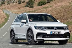 volkswagen suv 2015 interior the best family suvs parkers
