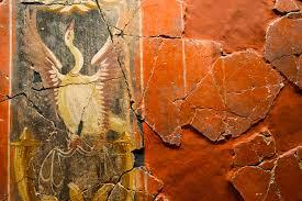 a day in cartagena bones ruins and swanky ships the bizarre roman mural in casa de la fortuna museum cartagena