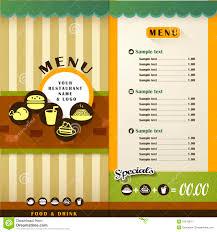 restaurant menu royalty free stock photography image 37079647