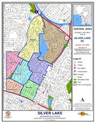 Los Angeles District Map by About Silver Lake Neighborhood Council