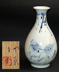 Antique Hand Painted Vases Antique Japanese Hand Painted Vase By Domoto Insho Item 952873