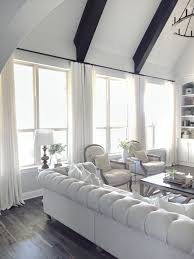 Livingroom Window Treatments Finishing Touch Living Room Window Treatments With Premier