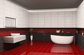 badezimmer rot fliesen rot trendfarbe die im badezimmer akzente setzt