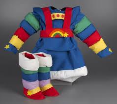 Rainbow Halloween Costume 114 3849 Rainbow Brite Costume Halloween Costume Holidays
