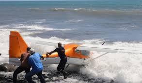 activities reunion forced landing for an ultralight aircraft on