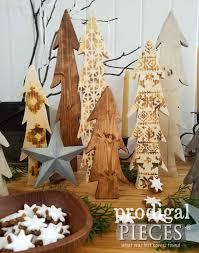 heat gun wood burning nordic wooden trees diy prodigal pieces
